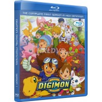 Digimon Season 1 Adventure Complete Blu-Ray Collection